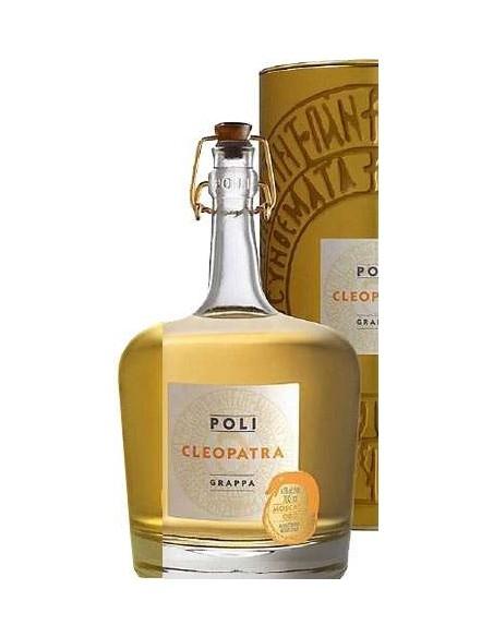 Grappa Cleopatra Moscato Oro Astucciata Jacopo Poli