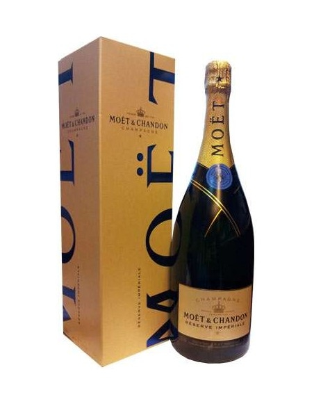 Moet & Chandon Reserve Imperiale Magnum with case Brut Champagne
