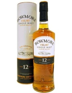 Bowmore Islay Single Malt 12 years Scotch Whisky with case