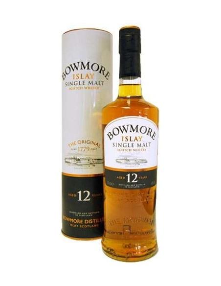 Bowmore Islay Single Malt 12 years Scotch Whisky with case