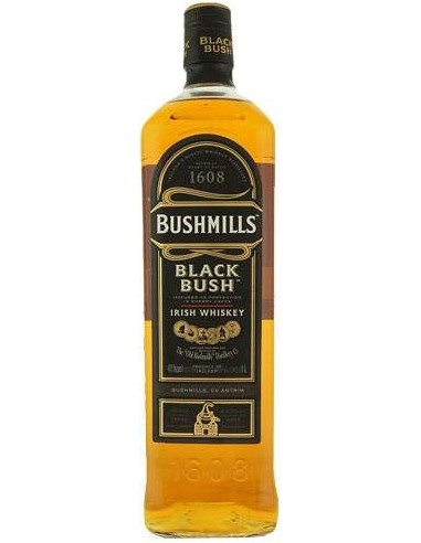 Whisky Bushmills Black Bush invecchiato in botti di Sherry