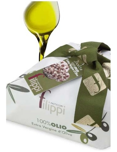 Colomba Classica Artigianale olio extravergine di oliva Filippi