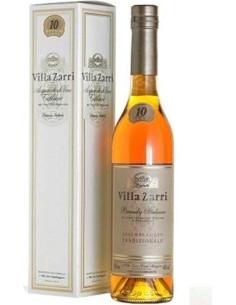 Brandy Assemblaggio Tradizionale 10 anni Villa Zarri Astucciato