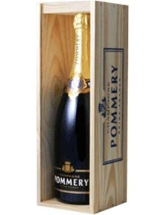 Pommery Noir Champagne Magnum in Cassetta di legno