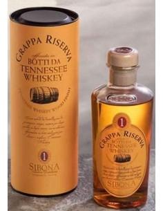 Grappa Sibona Riserva invecchiata in Botti da Tennessee Whiskey