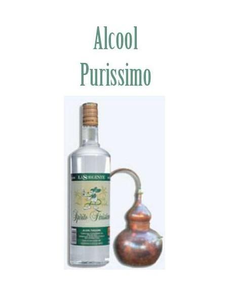 Alcool Puro Spirito Finissimo uso alimentare La Sorgente