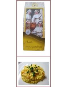 Risotto pronto Curry e Gamberetti Riseria delle Abbadesse 250 g.