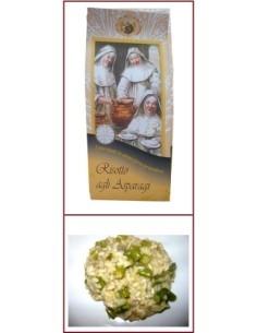 Risotto pronto agli asparagi Riseria delle Abbadesse 250 g.