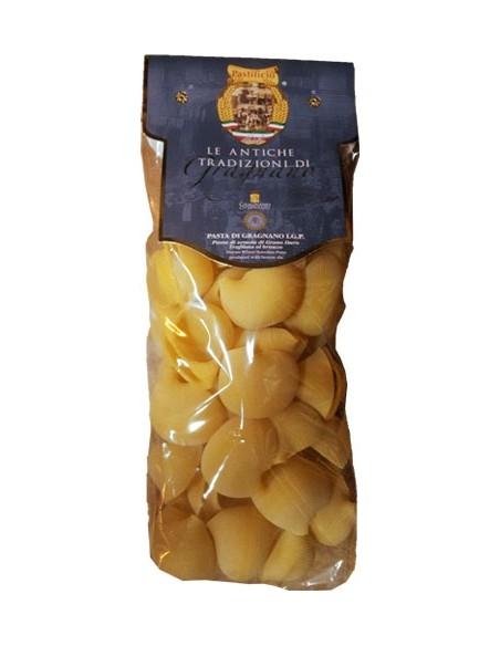 Conchiglioni rigati pasta artigianale di Gragnano IGP 500 g.