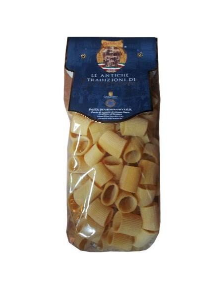 Mezzi Rigatoni pasta di Gragnano artigianale IGP 500 g.