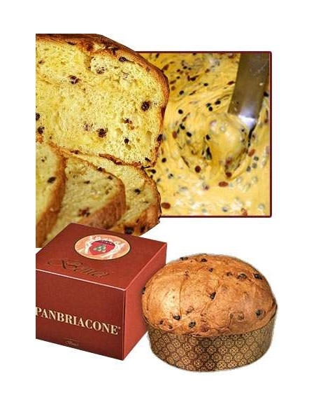 Panbriacone 750 g. Bonci Panettone Artigianale