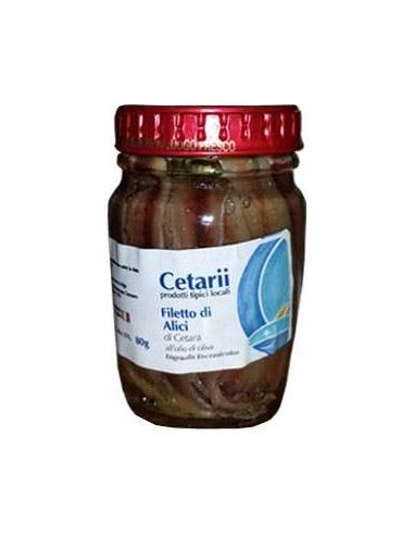 Filetto di Alici Cetarii - Prodotto tipico di Cetara