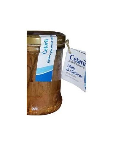 Filetto di Alletterato - Prodotto tipico di Cetara