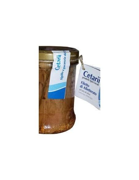 Filetto di Alletterato Cetarii - Prodotto tipico di Cetara 200 g.