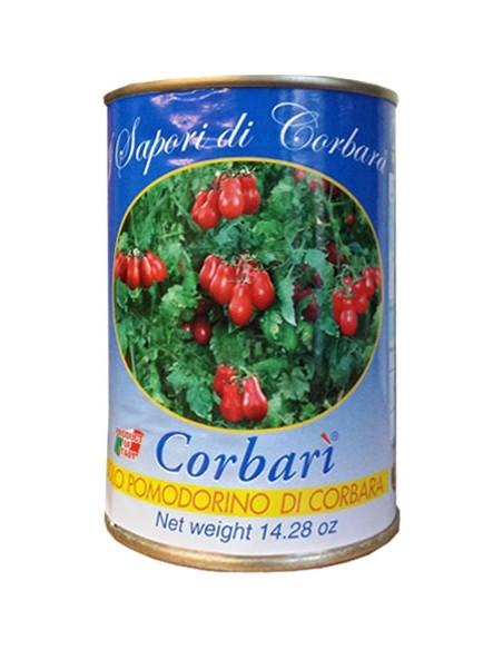 Pomodorini di Corbara in latta 400 g.