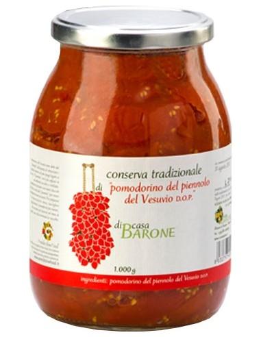 Conserva di Pomodorino del piennolo del Vesuvio DOP 520 g.