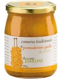 Conserva di Pomodorino giallo da Serbo Casa Barone 520 g.