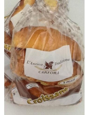 Cornetti artigianali 5 pz 200 g. Croissant