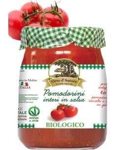 Pomodorini interi Biologici in salsa di pomodoro Orto d'Autore