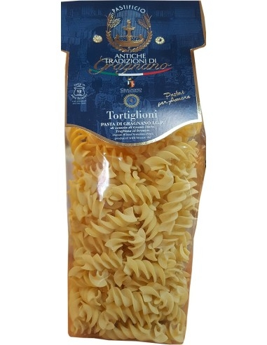 Tortiglioni pasta artigianale di Gragnano IGP 500 g.