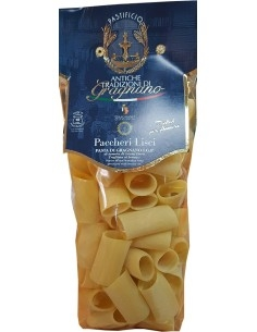 Paccheri lisci di Gragnano pasta artigianale IGP 500 g.