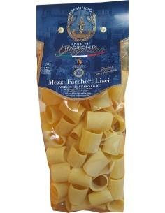 Mezzi Paccheri lisci pasta di Gragnano artigianale IGP 500 g.