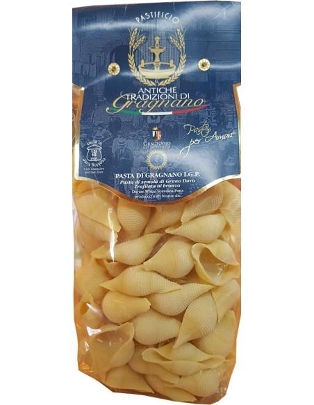 Conchiglie pasta artigianale di Gragnano 500 g.