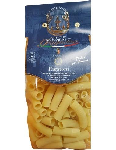 Rigatoni pasta artigianale di Gragnano 500 g.