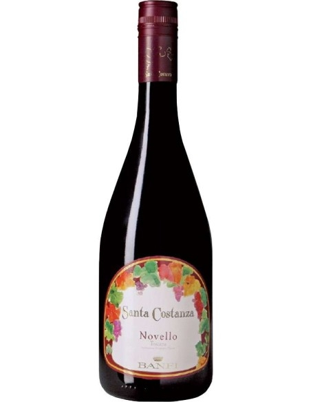 Vino Novello Santa Costanza Toscana Castello Banfi IGT 2014
