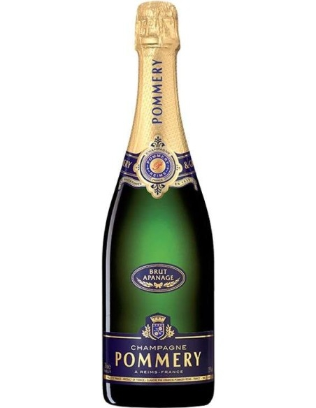 Pommery Brut Apanage Champagne with case