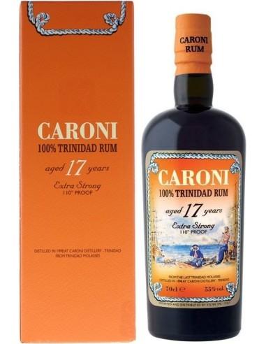 Rum Caroni 17 anni Extra strong 100% Trinidad Astucciato