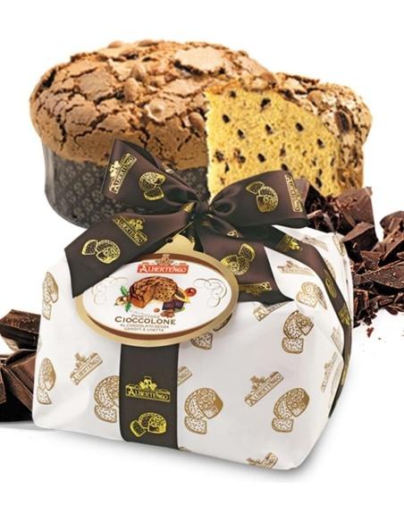 Panettone Artigianale Albertengo al Cioccolato 1 Kg.