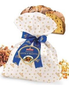 """Panettone Artigianale Antica Ricetta """"Ciuffo"""" Albertengo 1 Kg."""