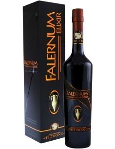 Falernum Elixir Antica distilleria Petrone Liquore nobilitato in barrique con Astuccio