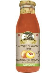 Nettare di frutta 70% Albicocche Italiane Biologico Orto d'Autore