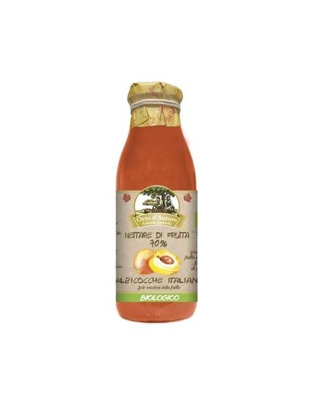 Nettare di frutta 70% Albicocche italiane Succo di frutta Biologico Orto d'Autore