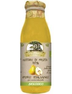 Nettare di frutta 70% Pere Italiane Biologico Orto d'Autore