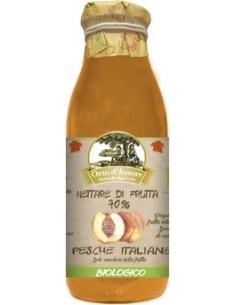 Nettare di frutta 70% Pesche Italiane Biologico Orto d'Autore