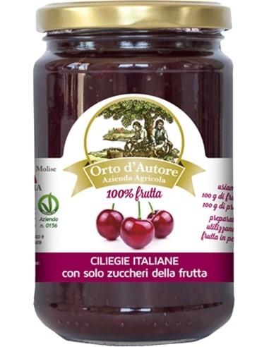 Preparato 100% frutta Ciliegie Italiane Orto d'Autore