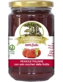 Jam 100% fruit Strawberries Italian Orto d'Autore
