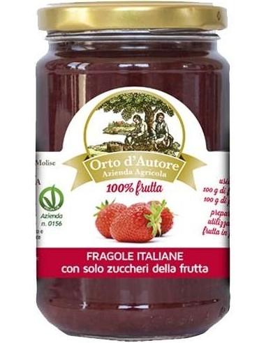 Preparato 100% frutta Fragole italiane Orto d'Autore