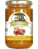 Jam 100% fruit Peaches Italian Orto d'Autore
