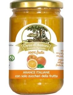 Preparato 100% frutta Arance Italiane Orto d'Autore