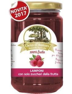Preparato 100% frutta Lamponi Italiani Orto d'Autore