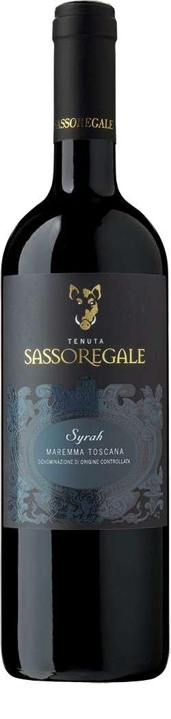Syrah 2015 Tenuta Sassoregale DOC Maremma Toscana