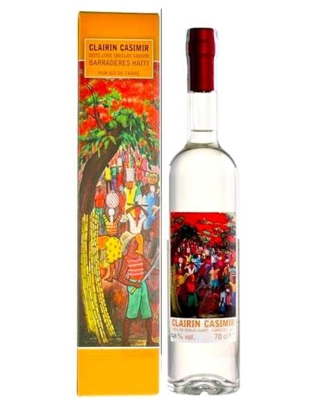 Rum Haiti Clairin Casimir Distillerie Douglas Casimir (70 cl.)