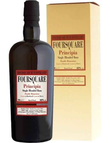 Principia Single Blended Rum Double Maturation Distilleria Foursquare