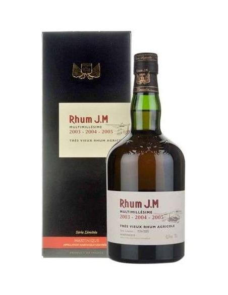 Rhum J.M. Multimillésime 2002-2007-2009 Rum Très Vieux Rhum Agricole