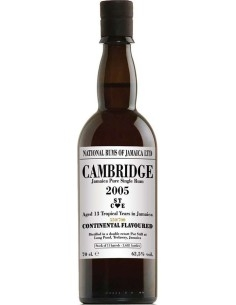 Cambridge 2005 Jamaica Pure Single Rum  ST ♥ CE Long Pond Distillery