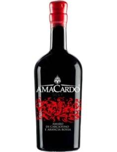 Red Amaro di carciofino e arancia Rossa Amacardo Sicily